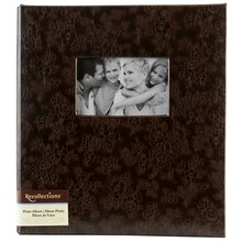 Recollections Brown Floral Photo Album