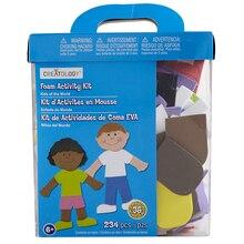 Creatology Foam Activity Kit, Kids of the World