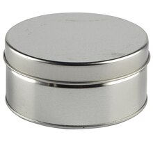 Small Silver Round Tin by Celebrate It