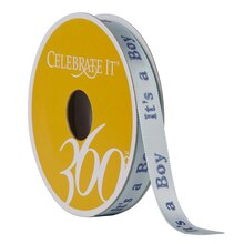 Celebrate It 360 Satin Ribbon, It's a Boy
