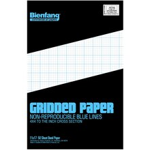 Bienfang® Gridded Paper Pad, medium