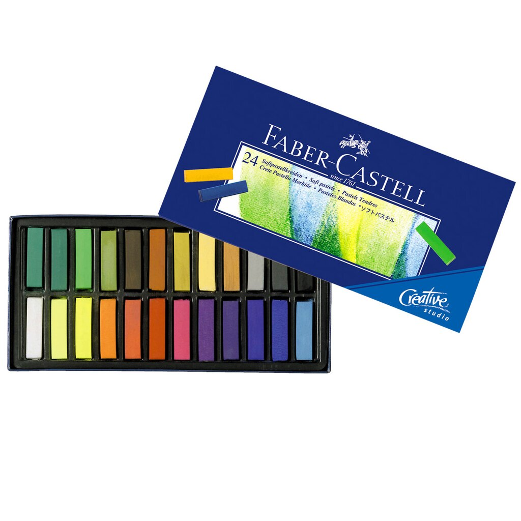 faber castell creative studio soft pastels. Black Bedroom Furniture Sets. Home Design Ideas