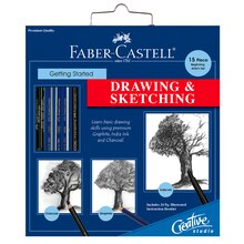Faber-Castell Getting Started Drawing and Sketching Set