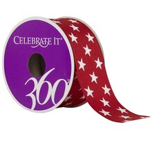 Celebrate It 360 Grosgrain Ribbon, Stars