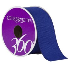 "Celebrate It 360 Grosgrain Ribbon, 1 1/2"", Royal Blue"