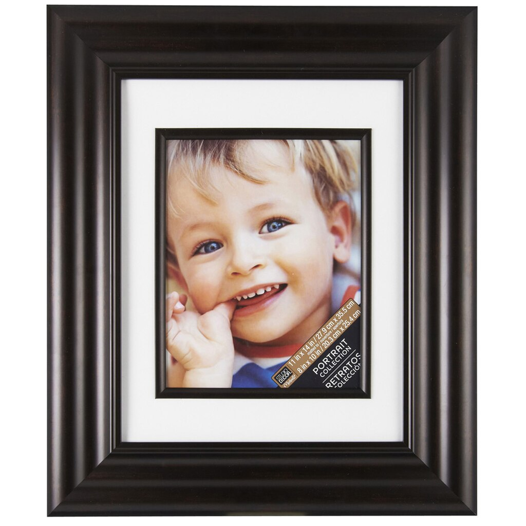Bronze Wide Scoop Frame 11 Quot X 14 Quot With 8 Quot X 10 Quot Mat