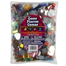 Darice Gems, Rhinestone Shapes Colors