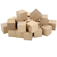 Lara's Crafts® Wood Square Blocks, 3/4""