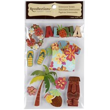 Recollections Signature Dimensional Stickers, Hawaii