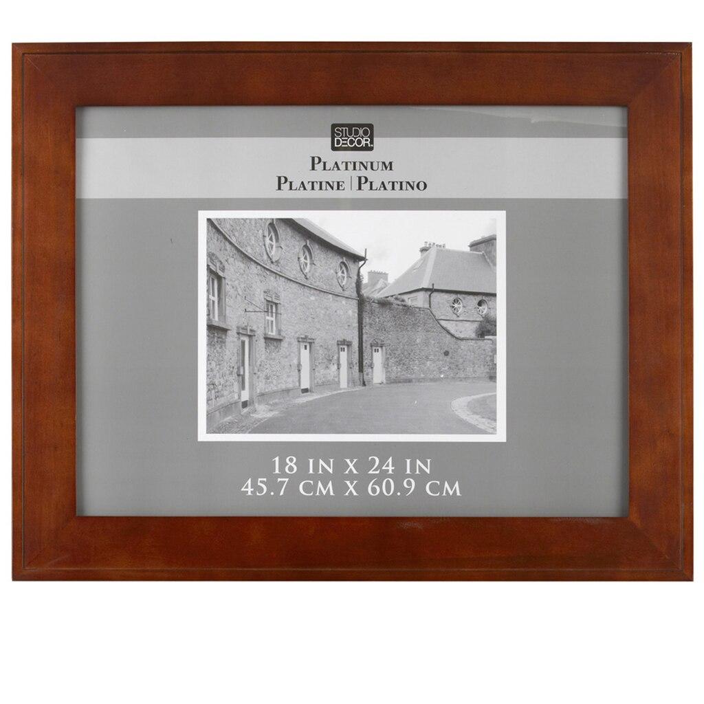 Studio d cor platinum collection hampton frame walnut for Home art design collection