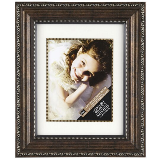 Bronze Ornate Frame 11 Quot X 14 Quot With 8 Quot X 10 Quot Mat Portrait