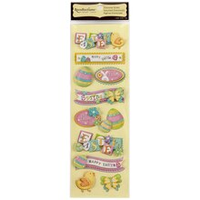 Recollections Signature Dimensional Stickers, Easter