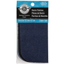 Loops & Threads Denim Patches, Assorted
