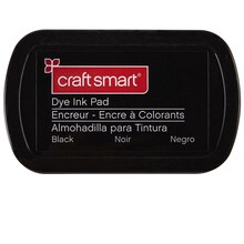 Craft Smart Dye Ink Pad, Black