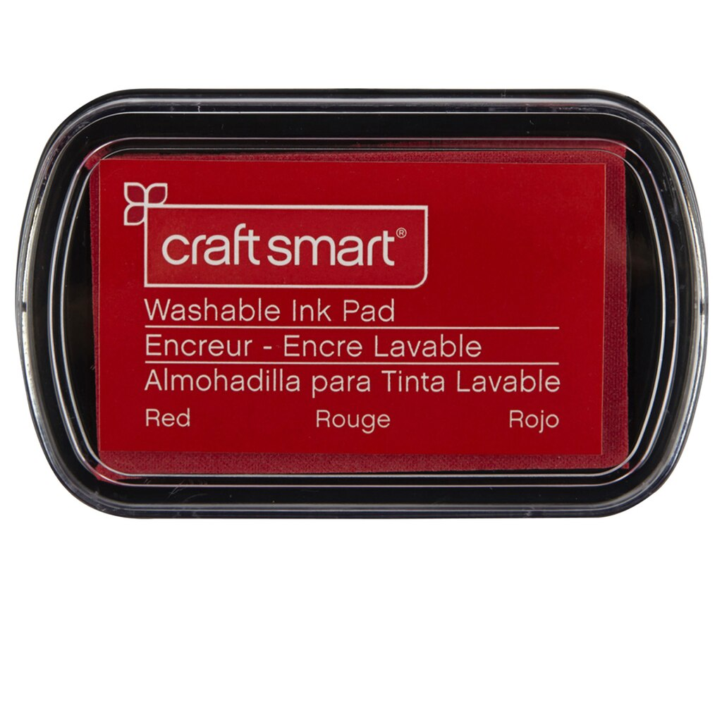Craft Smart® Washable Ink Pad, Red