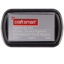 Craft Smart Pigment Ink Pad, Silver