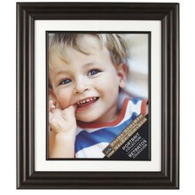 "Bronze Scoop Portrait Frame with Mat by Studio Décor®, 16"" x 20"", medium"