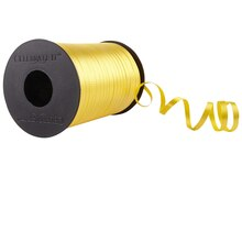 Celebrate It Curling Ribbon, Textured, Yellow