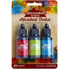 Tim Holtz Adirondack Alcohol Inks, Dockside Picnic