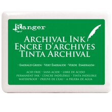 Archival Ink Jumbo Pad, Emerald Green