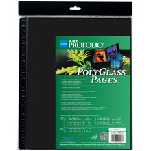 "ITOYA Art Profolio PolyGlass Pages, 8.5"" x 11"""
