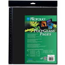 "ITOYA Art Profolio PolyGlass Pages, 14"" x 17"""