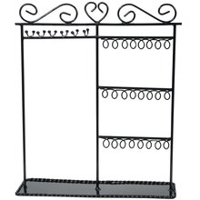 Darice Black Metal Jewelry Rack