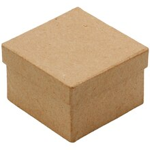 ArtMinds Paper Mache Mini Square Box Alt View