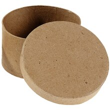 ArtMinds Paper Maché Round Box