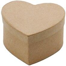 ArtMinds Paper Maché Heart Box, View B