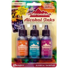 Tim Holtz Adirondack Alcohol Inks, Nature Walk