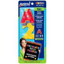 ArtSkills Quick Letter Pads, Holographic