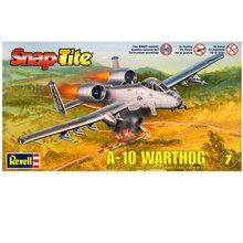 Revell Snap Tite Plastic Model Kit, A-10 Warthog