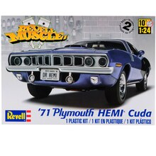 Revell Plastic Model Kit, 1971 Plymouth HEMI Cuda