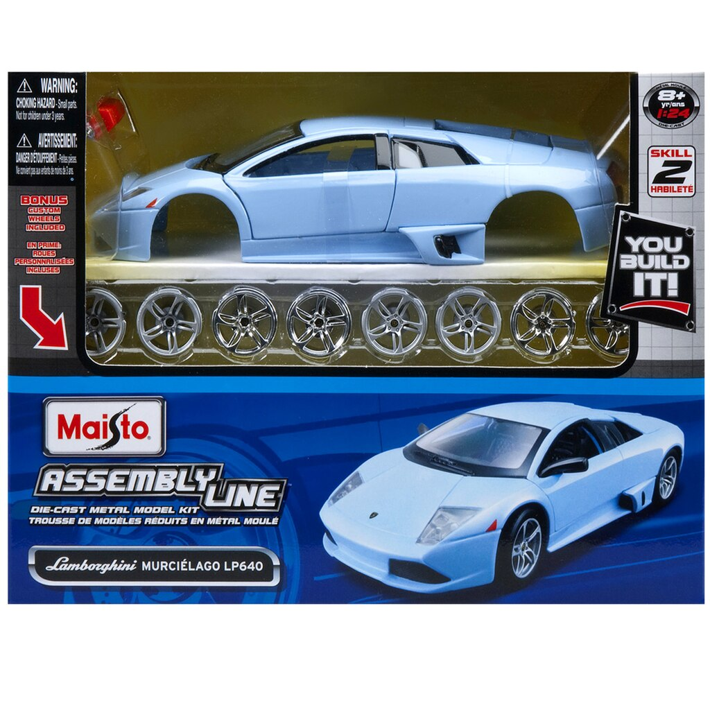 Maisto® Metal Model Kit, Lamborghini® Murcielago LP640