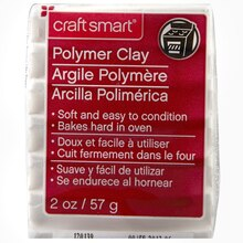 Craft Smart Polymer Clay, 2 oz., White