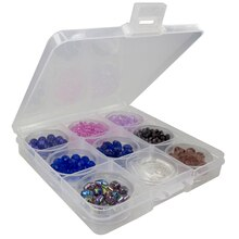 Bead Landing Clear Plastic Bead Box
