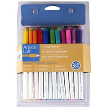 Artist's Loft Triangle Markers Fundamental, 36 Count