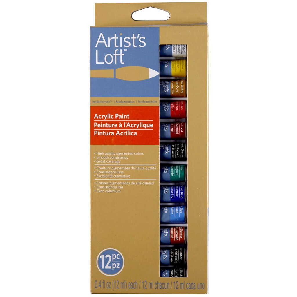 Artists Paint Brand Acrylic Paint