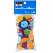 ArtMinds Big Bag of Buttons, Rainbow