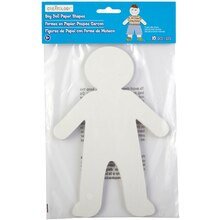 Creatology Boy Doll Paper Shapes