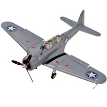 Revell SBD Dauntless Model Kit Finished
