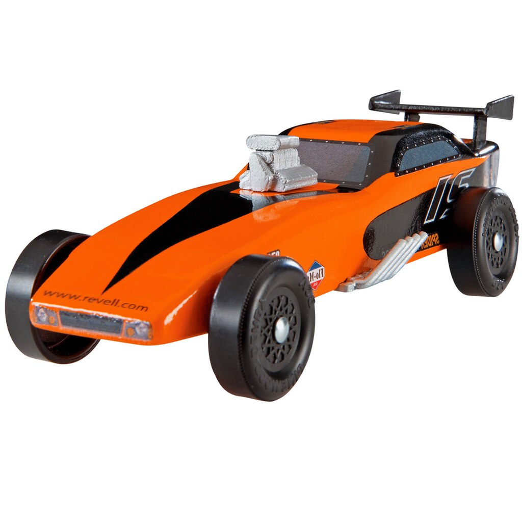 Revell® Pinewood Derby® Funny Car Trophy Series Racer