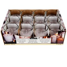 Ashland Basic Elements Glass Votive Candles, White