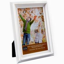 "Studio Décor Simply Essentials Basic Frame, White 4"" x 6"""