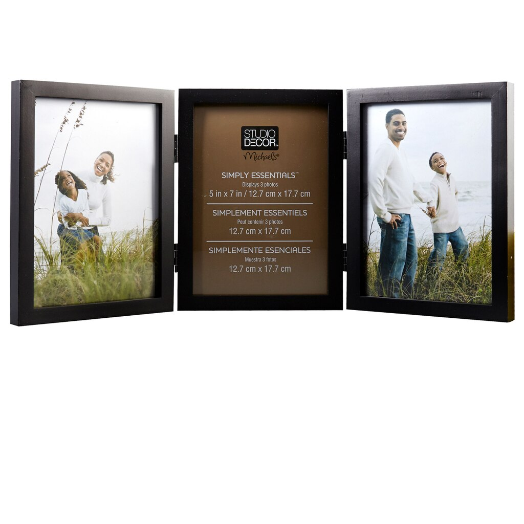 Studio Décor® Simply Essentials™ 3-Opening Hinged Frame
