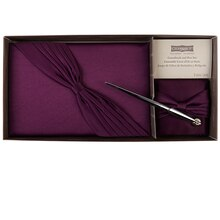 Celebrate It Occasions Guest Book & Pen Set, Plum