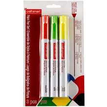 Craftsmart Paint Pen, Broad Line 3 Pc—Halloween