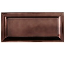 Ashland Rectangular Decor Tray, Copper
