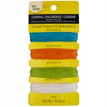 Bead Landing Natural Hemp Cord, 170 ft., Brights